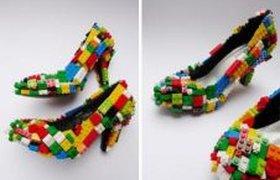 Новые туфли из Лего