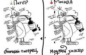 Питер и Москва: в чем разница?