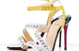 Туфли для измерения длины ноги?
