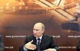 """Путин """"прошелся"""" по российским дорогам и подрядчикам"""