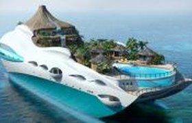 Яхта-остров Tropical Island Paradise