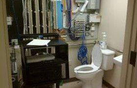 Туалет в серверной