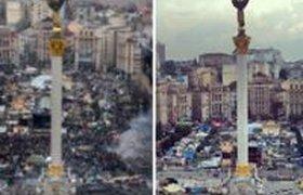 На Майдане разбирают последние баррикады. ФОТО