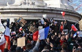 Почти четыре миллиона человек пришли на Марш единства во Франции. ФОТО
