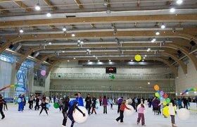 Русские традиции в миниполисах: катания на коньках