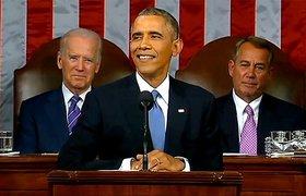 """Барак Обама в послании к Конгрессу: экономика России """"разорвана в клочья"""""""