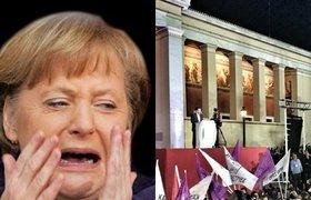 """Победа леворадикалов в Греции: Ангела Меркель """"плачет"""". ФОТО"""