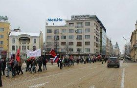 Болгары вышли на митинг против членства в НАТО и войны с Россией