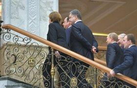 СМИ: журналисты нашли черновик минского соглашения во Дворце Независимости