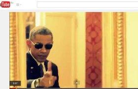 Что делает Обама, когда остается один?