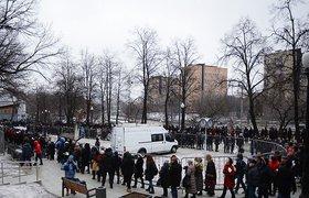 В Москве прощаются с Борисом Немцовым. ФОТО