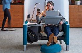 Изобретена офисная мебель, которая помогает концентрироваться и дольше не отвлекаться от работы