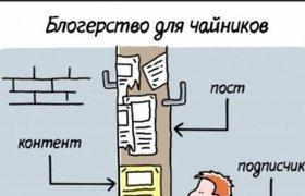"""Как проиллюстрировать """"профессию"""" блогера"""