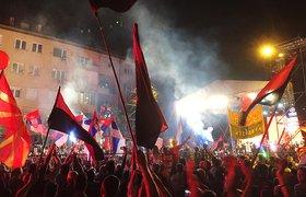 """Политолог: """"Майдан"""" в Македонии вряд ли помешает газовым планам России"""