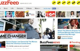Американский развлекательный сайт BuzzFeed обмолвился об IPO