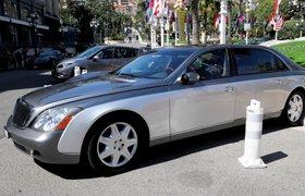 Гости Петербургского экономического форума будут ездить на Mercedes-Maybach