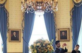 Экскурсия по Белому дому США. ФОТО