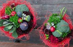Как бывший рекламист создала в Петербурге мастерскую овощных букетов