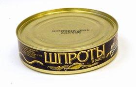 На ввоз рыбных консервов из Латвии введен новый запрет
