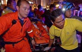 При взрыве самодельной бомбы в Бангкоке погибли 22 человека
