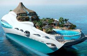 Самые необычные яхты мира. ФОТО
