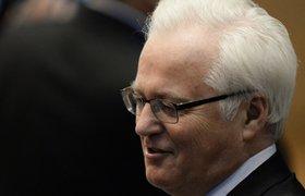 В соцсетях обсуждают, как Чуркин ушел с заседания ООН во время выступления Порошенко