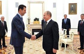 В Кремле рассказали о встрече Башара Асада и Владимира Путина в России