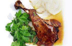 """""""Топовая"""" еда: запеченная баранья нога. Рецепт от топ-менеджера REHAU"""