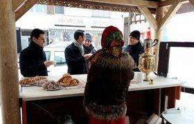 Русское гостеприимство в Давосе: российский бизнес-завтрак с самоваром и баранками