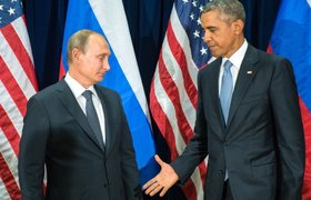 Владимир Путин и Барак Обама обсудили вывод войск РФ из Сирии