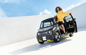 Opel представил бюджетный двухместный электрокар для подростков