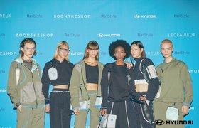 Куртки, худи и брюки из подушек и ремней безопасности: Hyundai показала новую коллекцию одежды
