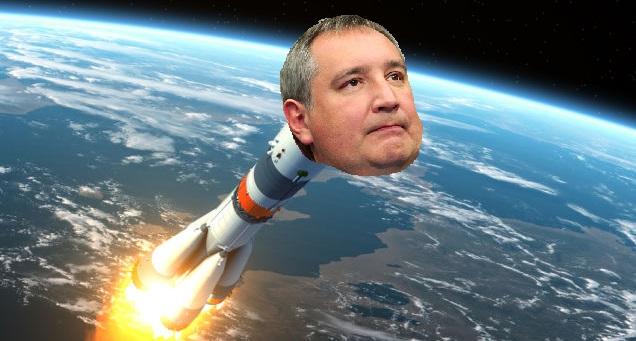 ракета в космосе картинки