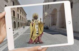 Новое приложение позволит совершить AR-прогулку по Италии с гидом в лице Николая Чудотворца