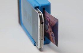 Придуман чехол для смартфонов, который может печатать фотографии