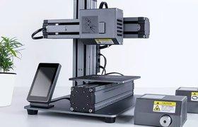 Стартап объединил 3D-принтер, фрезерный и лазерный станки в один продукт по $449