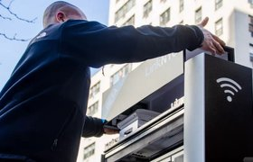 В Нью-Йорке устанавливают общественный гигабитный Wi-Fi