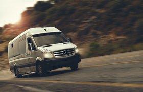 Mercedes-Benz Sprinter преобразовали в дом на колесах