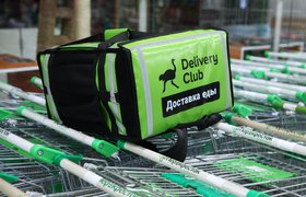 Delivery Club начал продавать рекламные места в приложении и на рюкзаках курьеров