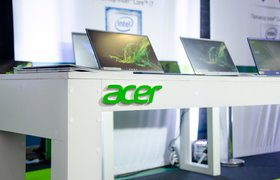 Производитель компьютеров Acer вышел на новый рынок в России