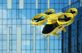 В Москве провели испытания летающих такси Hover