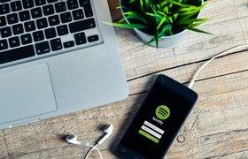 Сервис Spotify запустили в России