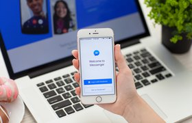 Facebook представил новый логотип для Messenger