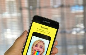 Snapchat добавил возможность нарисовать собственную AR-маску