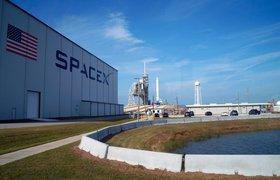 Многоразовая ступень Falcon 9 совершила посадку на платформу в Атлантическом океане