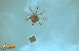 Доставка пиццы дронами в Сыктывкаре взбудоражила западные СМИ