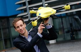 В Голландии придумали дрон-дефибриллятор