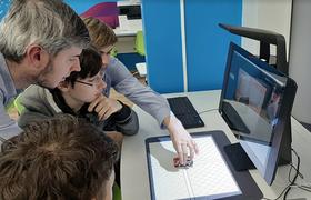 HP Inc. открыла в московской школе «образовательный класс будущего»
