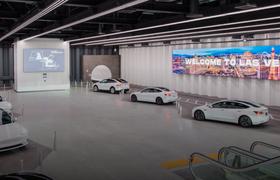 «Радужная дорога»: подземный тоннель Илона Маска под Лас-Вегасом подготовили к презентации