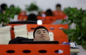 Работникам IT-индустрии в Китае приходится ночевать в офисах